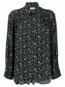 Zadig & Voltaire floral-print blouse - Black