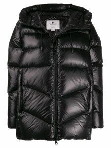 Woolrich hooded puffer jacket - Black