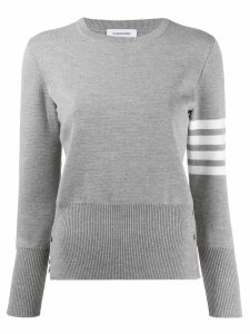 Thom Browne 4-Bar Milano Pullover - Grey