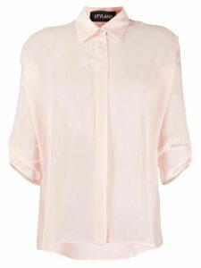 Styland rolled sleeve shirt - PINK