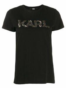 Karl Lagerfeld Karl Oui T-shirt - Black