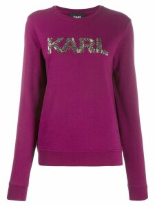 Karl Lagerfeld Karl Oui sweatshirt - PINK