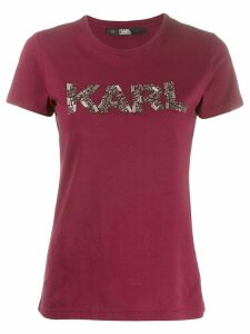 Karl Lagerfeld Karl Oui T-shirt - Red