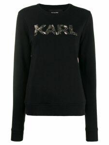 Karl Lagerfeld Karl Oui sweatshirt - Black