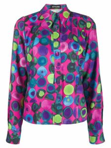 Styland all-over print shirt - PINK