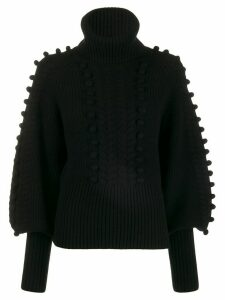 Temperley London Chrissie bobble knit sweater - Black