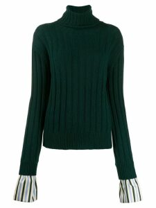 Jejia turtle neck jumper - Green