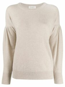 Zanone loose-fit jumper - NEUTRALS
