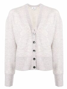 Ck Calvin Klein v-neck knit cardigan - Purple