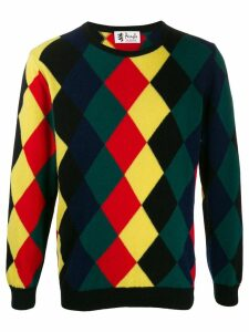 Pringle of Scotland Reissued diamond knit jumper - Green