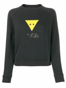 Maison Kitsuné Triangle graphic sweatshirt - Black