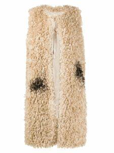 Bellerose Evita textured coat - Neutrals