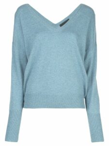 Nili Lotan relaxed-fit sweater - Blue