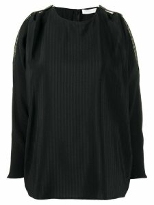 Fabiana Filippi cut-out detail blouse - Black
