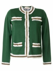 Tory Burch Kendra fringed cardigan - Green