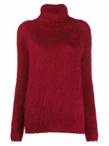 Gianluca Capannolo Mirella turtleneck jumper - Red
