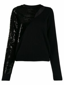RtA sequin-embellished jumper - Black