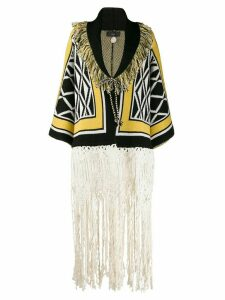 Alanui Ravenstail fringe cardigan - Yellow