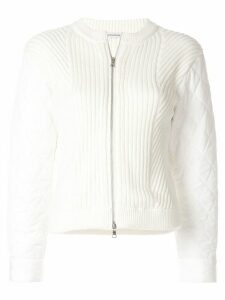 Guild Prime shell-panelled cardigan - White
