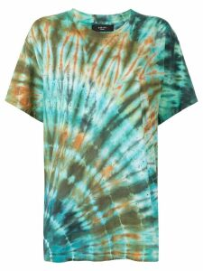 AMIRI Shotgun tie-dye T-shirt - Green