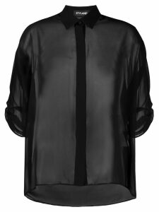 Styland sheer blouse - Black