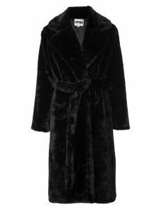 Apparis Mona robe coat - Black
