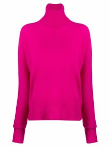 Maison Flaneur cashmere relaxed-fit jumper - PINK