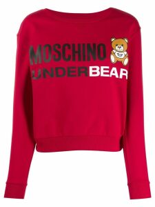 Moschino Underbear sweatshirt - Red