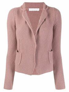 Fabiana Filippi textured knit cardigan - PINK