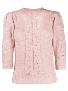 See By Chloé Feminine knit sweater - PINK