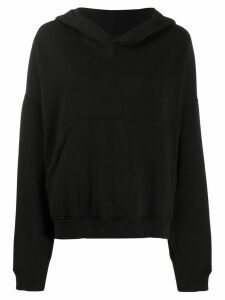 Katharine Hamnett London choose life hoodie - Black