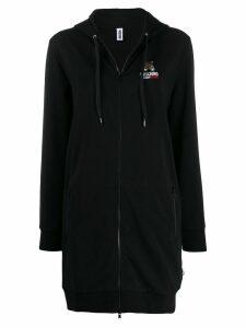 Moschino Underbear long zipped hoodie - Black