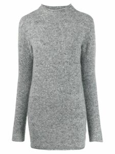 Agnona turtle-neck jumper - Grey