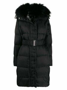 Ermanno Scervino hooded padded coat - Black