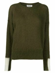 Essentiel Antwerp crew-neck knit sweater - Green