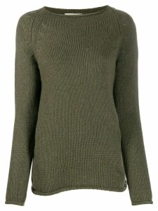 Forte Forte knitted plain jumper - Green