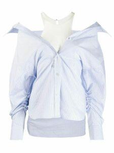 Alexander Wang Falling shirt - Blue