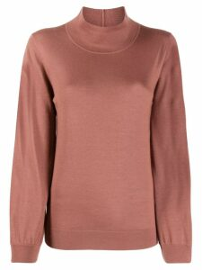 Fabiana Filippi turtleneck knit sweater - PINK
