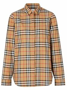 Burberry Vintage Check print shirt - Brown