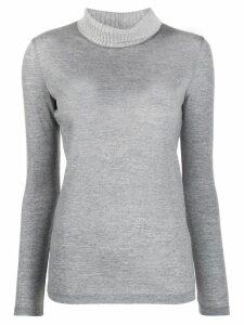 Fabiana Filippi turtleneck knit sweater - Grey