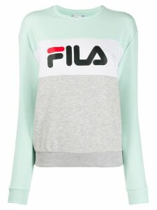 Fila colourblock logo sweatshirt - Grey