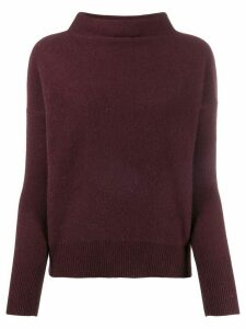 Vince knitted cashmere sweater - Purple