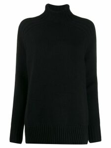Polo Ralph Lauren relaxed-fit roll-neck jumper - Black