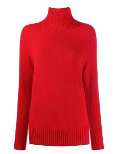 Polo Ralph Lauren relaxed-fit roll-neck jumper - Red