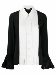 Tory Burch two-tone shirt - Black
