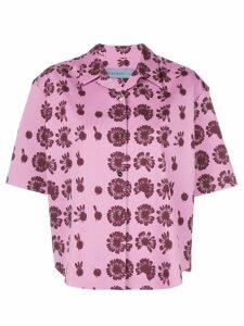 Jonathan Cohen floral print shirt - PINK