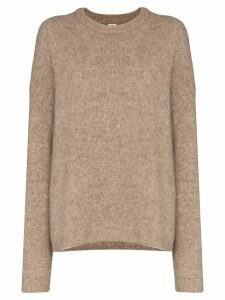 Toteme Biella textured knit sweater - Neutrals