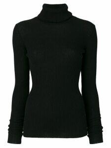 Nude roll-neck knit jumper - Black