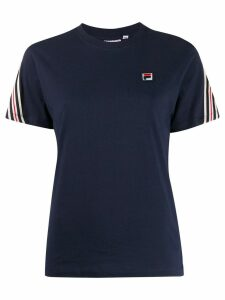 Fila Rosalia stripe detail T-shirt - Blue
