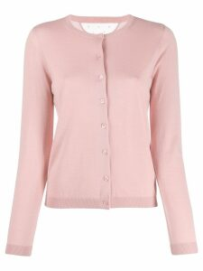 Red Valentino lightweight knitted cardigan - Pink